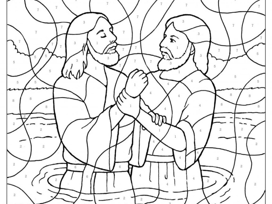 Baptism Coloring Pages Phenomenalsus Getting Baptized Coloring Page Baptism Lds Being