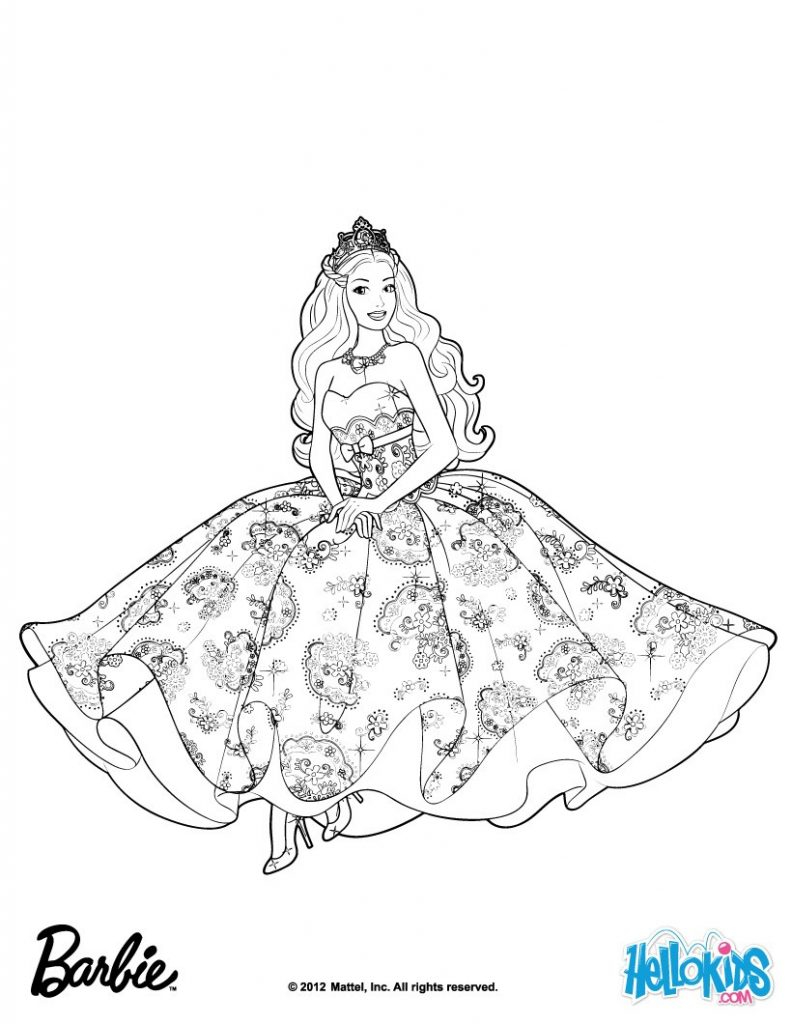 Barbie Princess Coloring Pages Urgent Rockstar Coloring Pages Printables Barbie The Princess