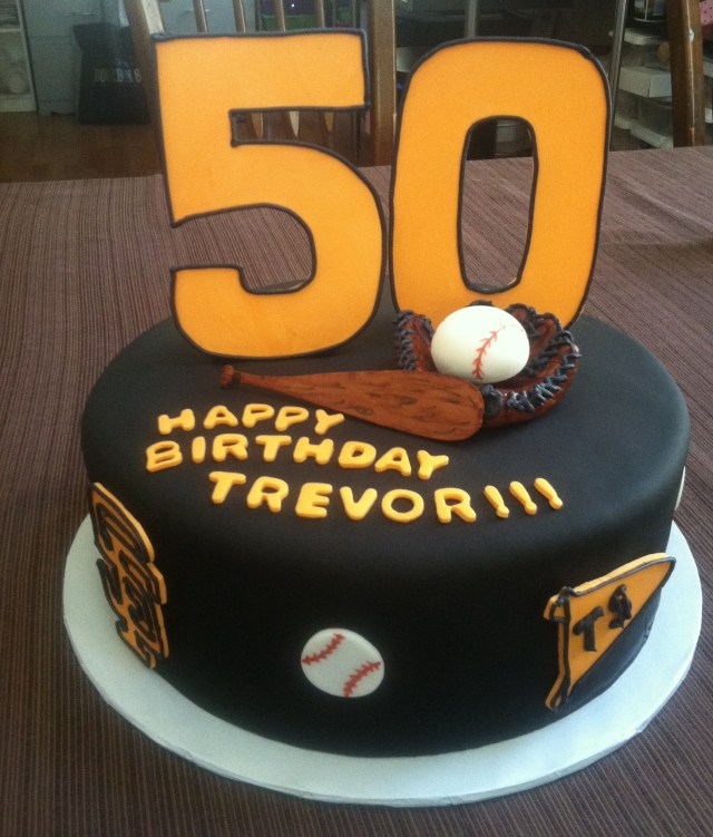Baseball Birthday Cake 50th Baseball Birthday Cake Cakecentral