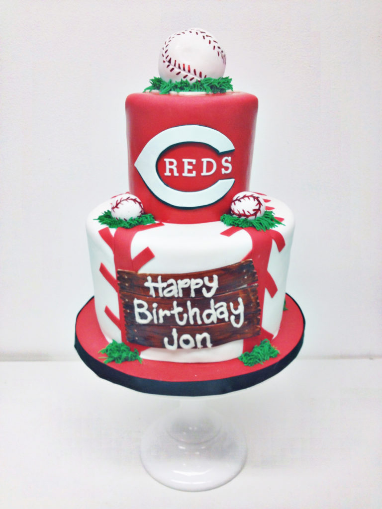 Baseball Birthday Cake Nashville Sweets Reds Baseball Birthday Cake