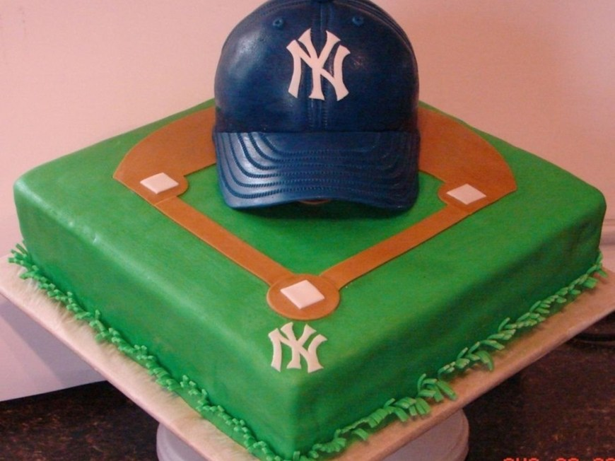 Baseball Birthday Cake Top Baseball Cakes Cakecentral