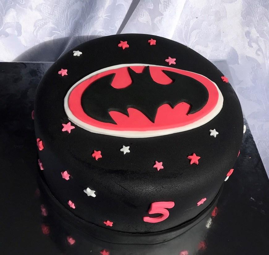 Batgirl Birthday Cake Batgirl And Supergirl Birthday Cakes Kay Cake Designs