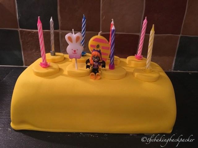 Batgirl Birthday Cake Batgirl Birthday Cake The Baking Backpacker