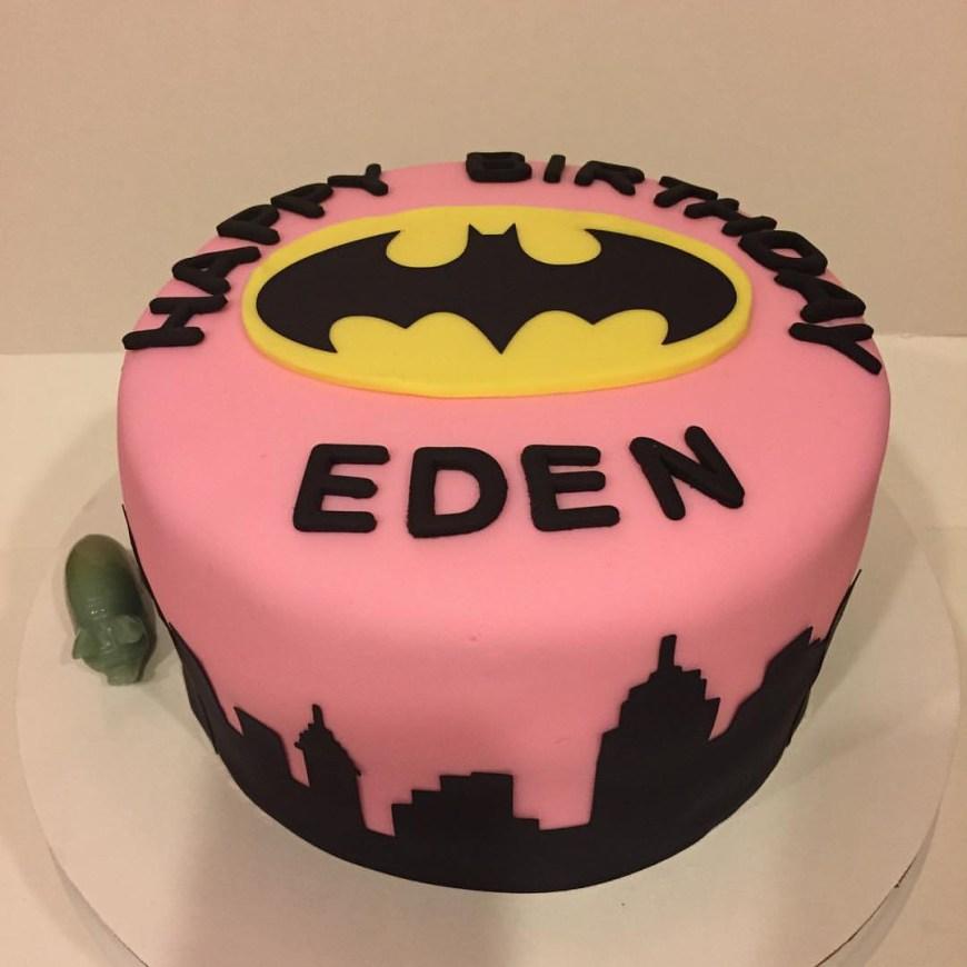 Batgirl Birthday Cake Batgirl Birthday Cakes