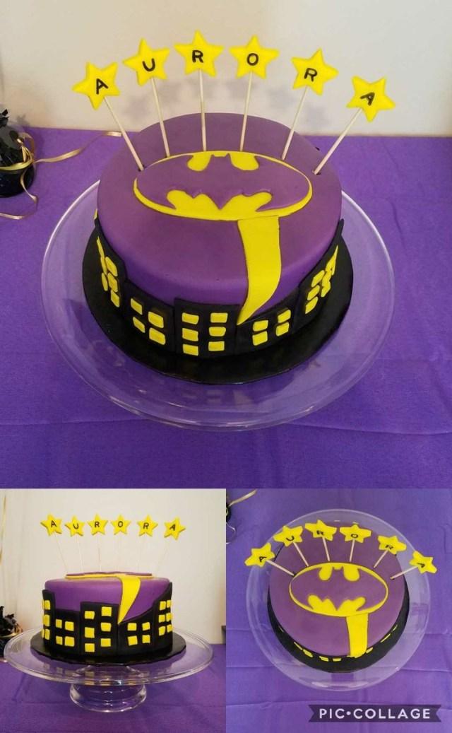 Batgirl Birthday Cake Bayareabeautyblogger On Twitter Batgirl Cake For The Birthday
