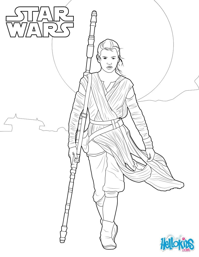 Bb8 Coloring Page Bb 8 The Force Awakens Coloring Pages Hellokids