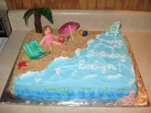 Beach Birthday Cakes Beach Theme Birthday Cake Cakecentral