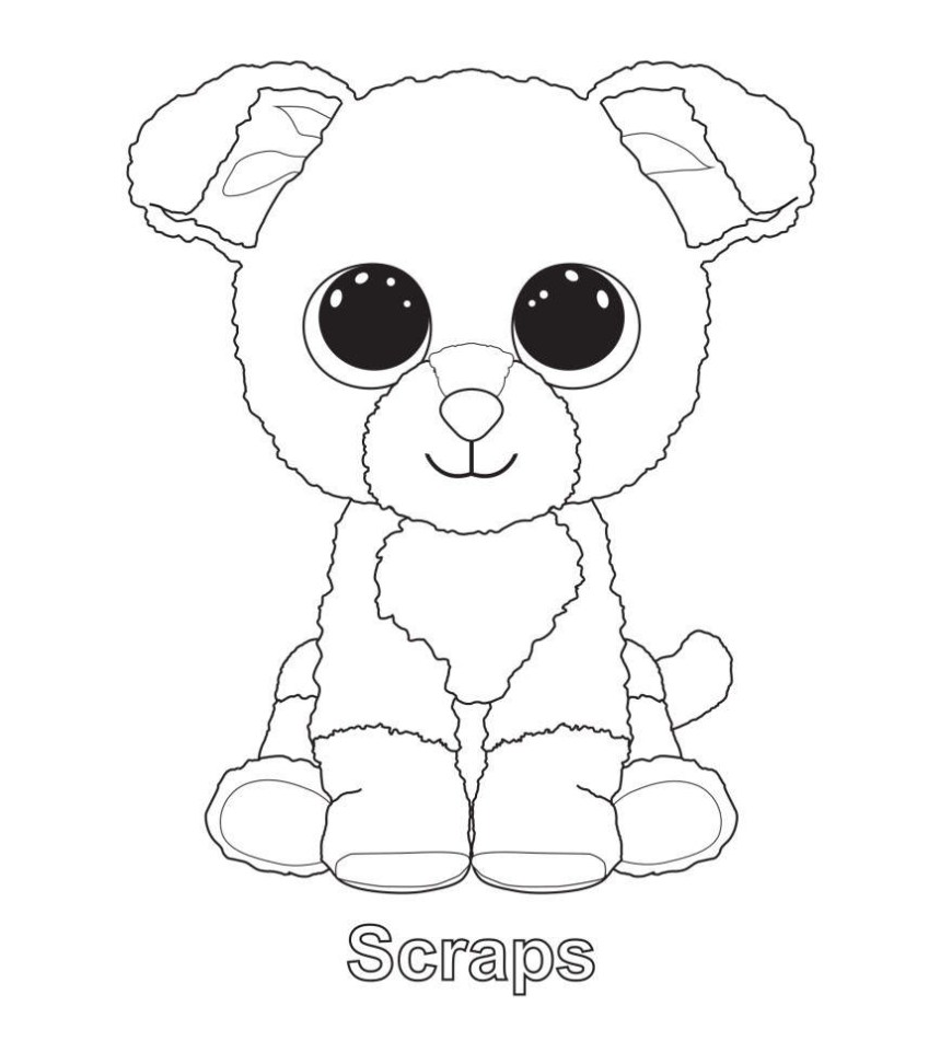 Beanie Boo Coloring Pages Unsurpassed Free Printable Beanie Boo Coloring Pages New Book 2018