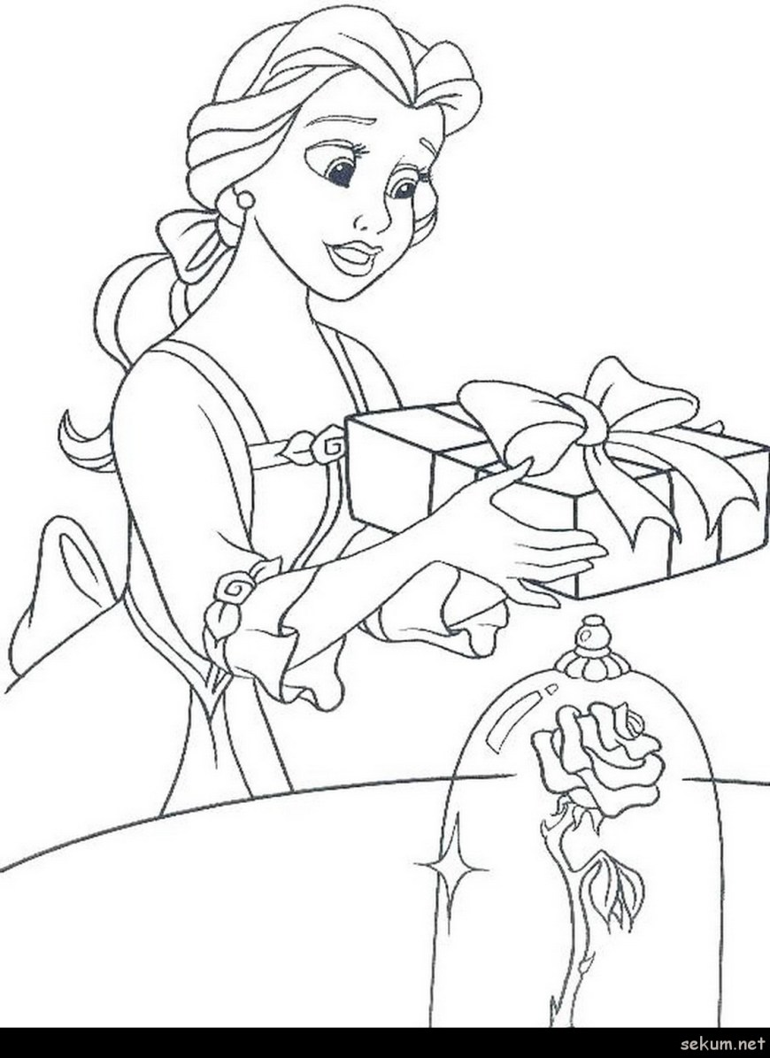 Belle Coloring Pages Coloring Pages Belle Belle Coloring Pages Belle Princess Coloring