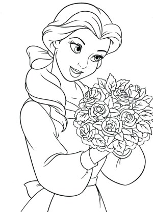 Belle Coloring Pages Princess Belle Coloring Pages 19 G For Girls Ba Gerrydraaisma
