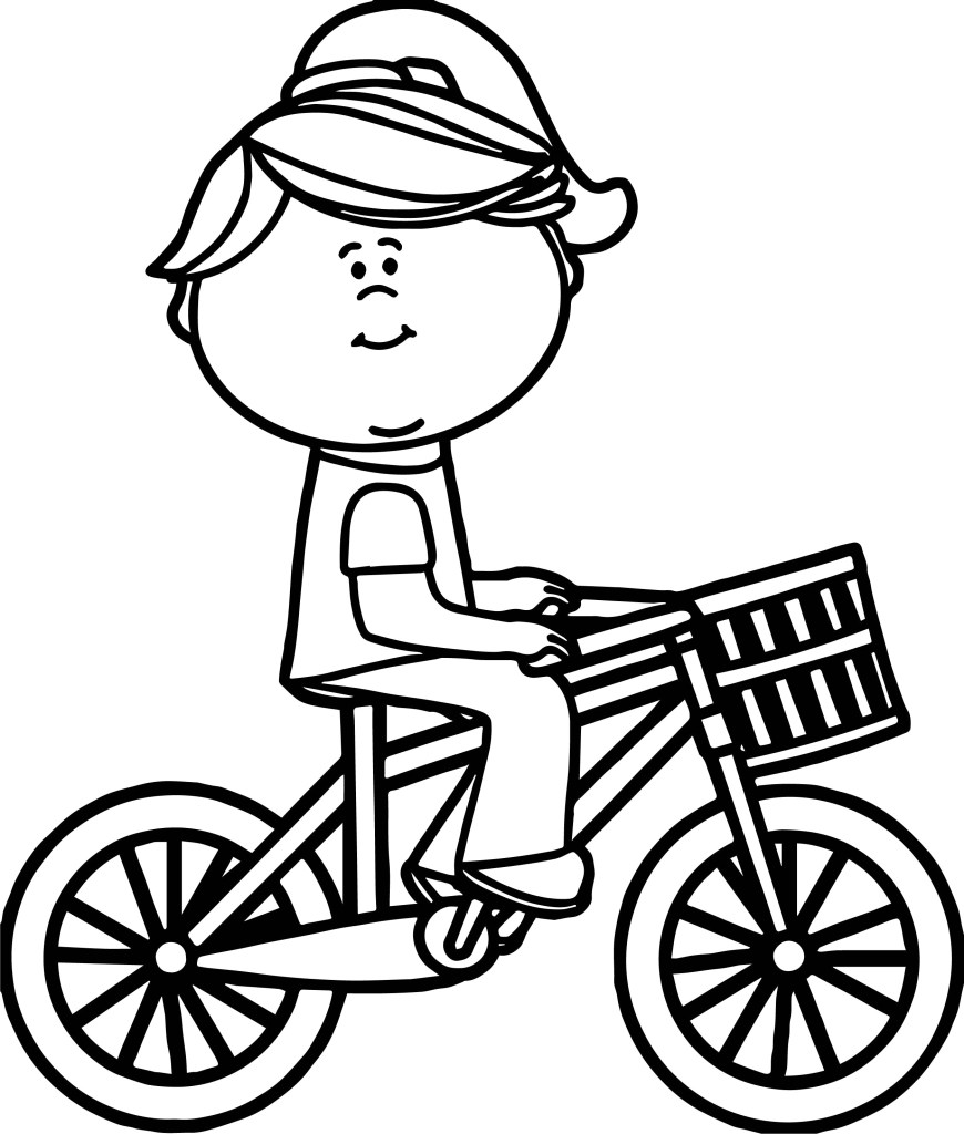 Bike Coloring Pages Bicycle Coloring Pages Bitslice