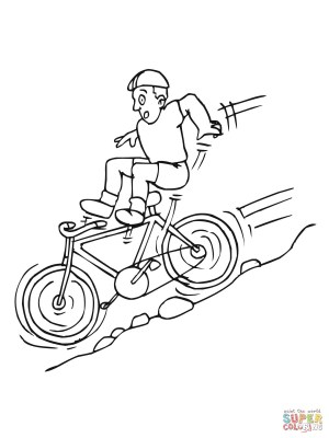 Bike Coloring Pages Bicycles Coloring Pages Free Coloring Pages