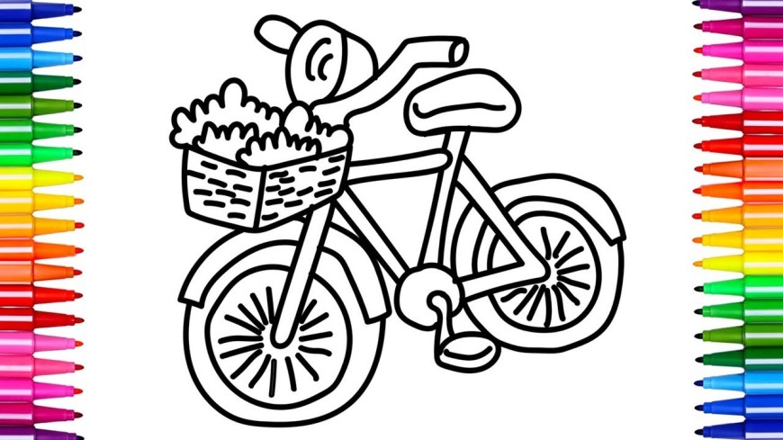Bike Coloring Pages Coloring Pages Maxresdefault Coloring Pages For Kids Bike Girls