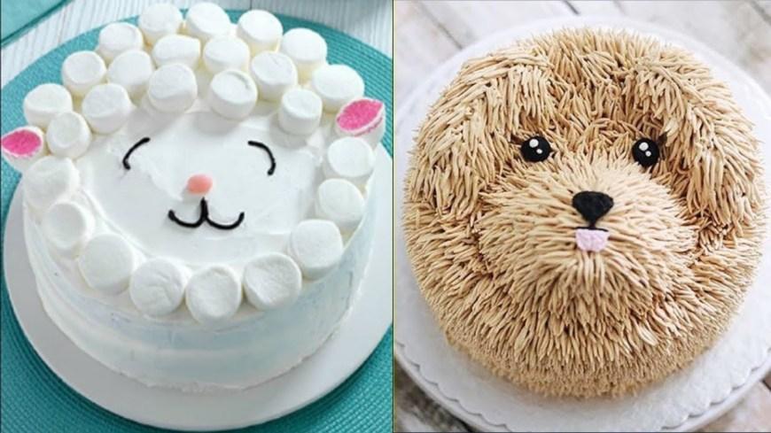 Birthday Cake Decorating Ideas Top 20 Easy Birthday Cake Decorating Ideas Oddly Satisfying Cake