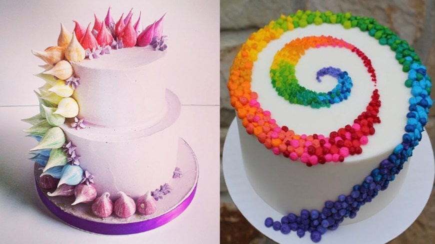 Birthday Cake Decorating Ideas Top 20 Easy Birthday Cake Decorating Ideas Oddly Satisfying Cake