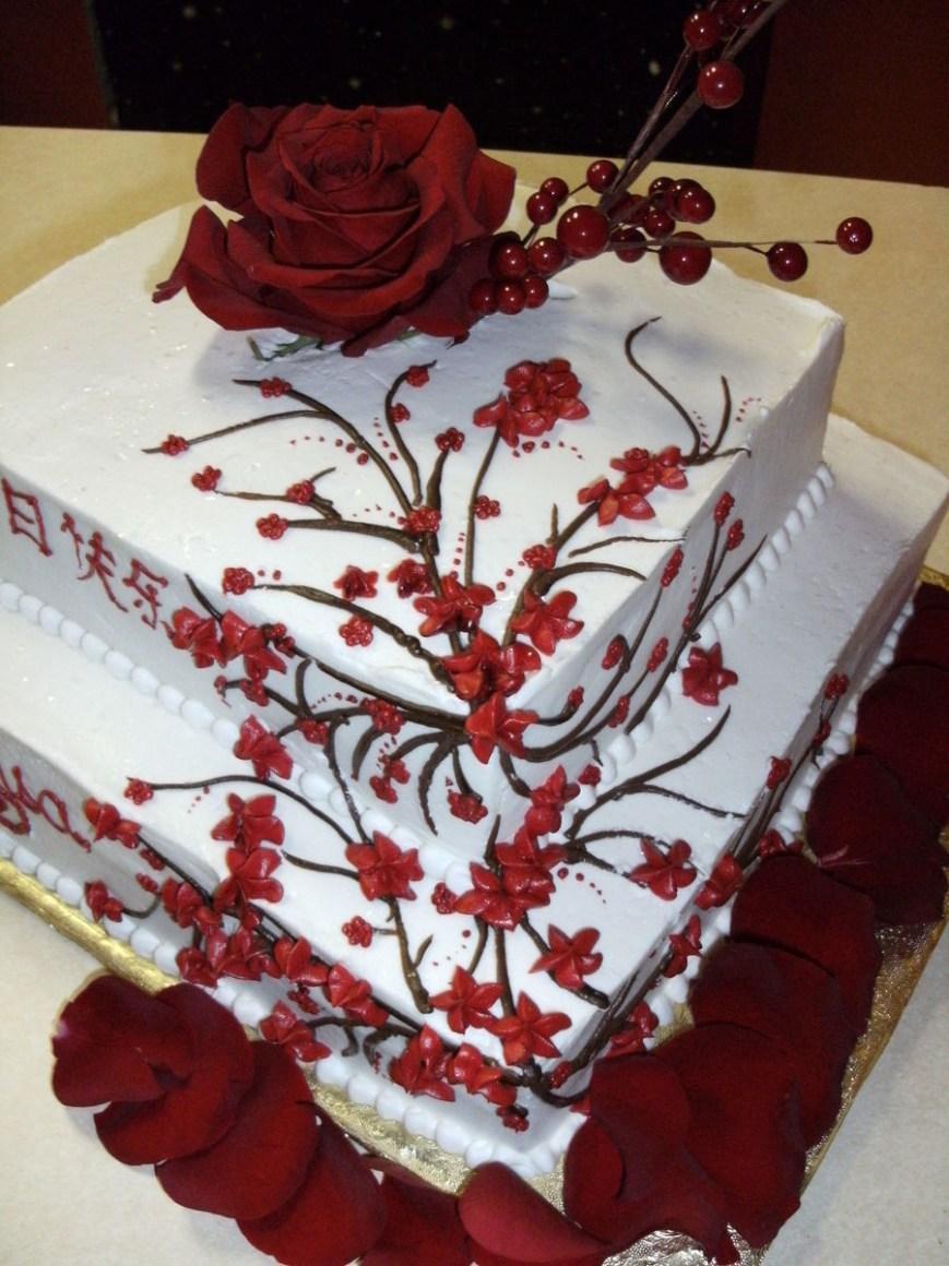 Birthday Cake Design Asian Design Birthday Cake Cakecentral