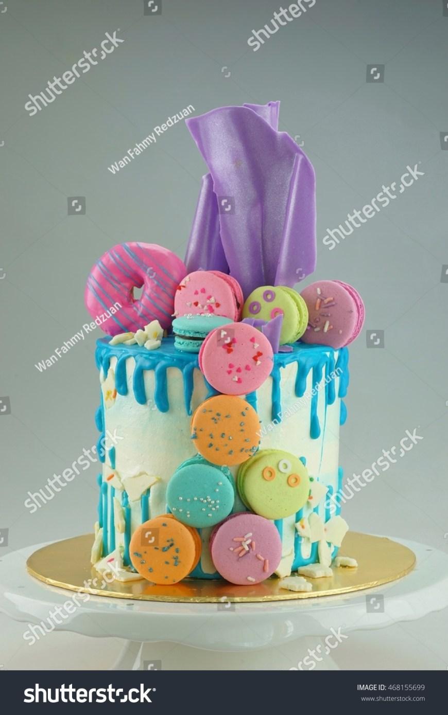 Birthday Cake Dip Double Dip Cake Sail Stock Photo Edit Now 468155699 Shutterstock