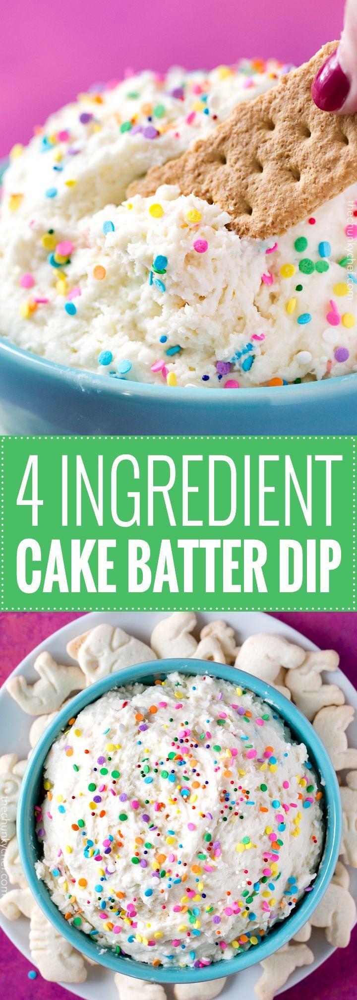 Birthday Cake Dip Pin Spend With Pennies On Recipes Dessert Desserts Funfetti