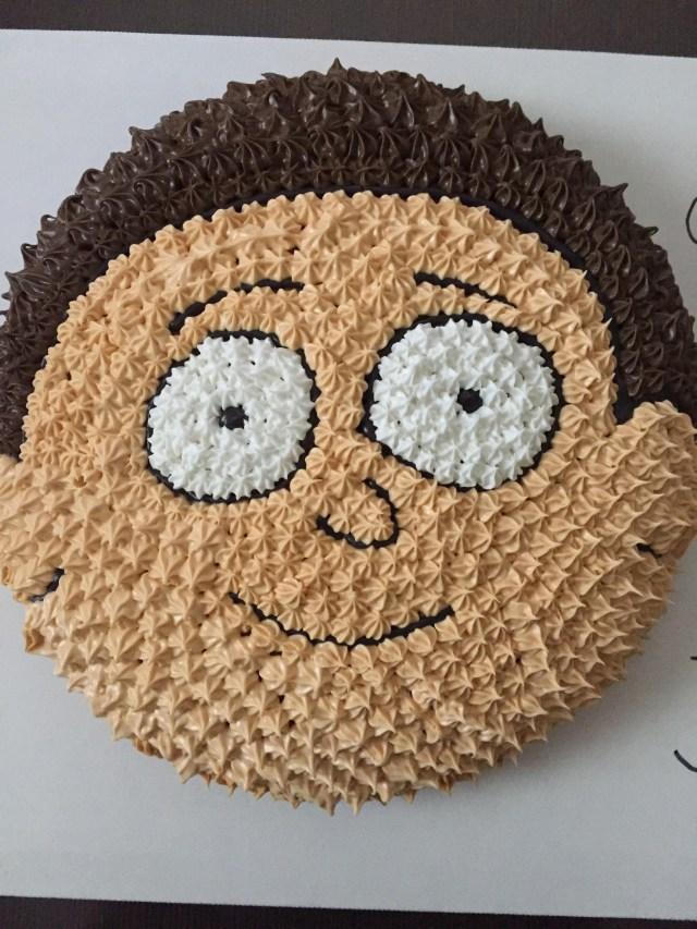 Birthday Cake Farts Oh Geez I Made This Birthday Cake For My Boyfriend Rickandmorty