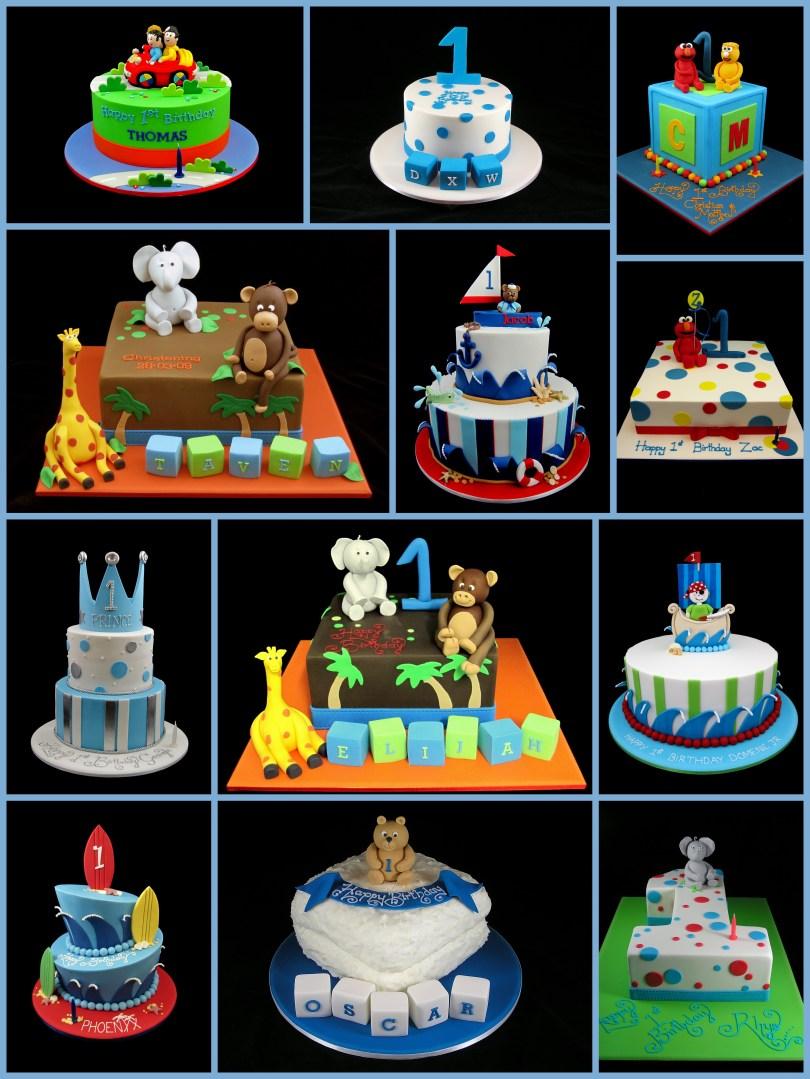 Birthday Cake For Boy 1st Birthday Cake For Boys Inspired Michelle