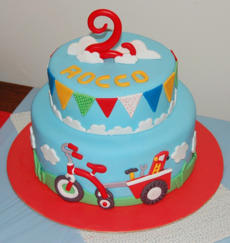 Birthday Cake For Boy Kids Birthday Cakes Cake For A Little Boys 2nd Birthday The