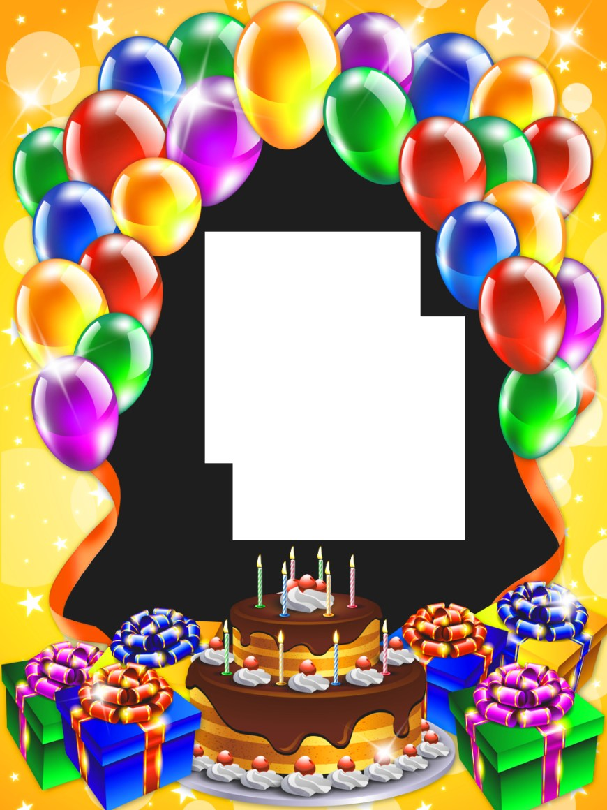 Birthday Cake Photo Frame Free Birthday Frame Download Free Clip Art Free Clip Art On
