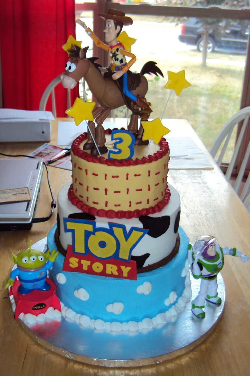 Birthday Cake Themes Toy Story Cakes Decoration Ideas Little Birthday Cakes