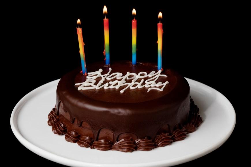 Birthday Cakes Photos 2 Layer Chocolate Birthday Cake Send Birthday Cakes Online