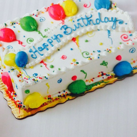 Birthday Sheet Cakes Birthday Sheet Cake Cake Birthday Cakes Pinterest Cake