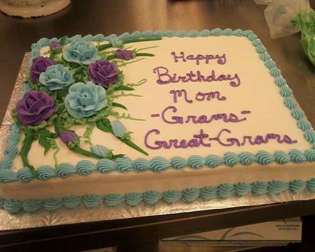 Birthday Sheet Cakes Birthday Sheet Cakes Because I Just Made A 90th Birthday