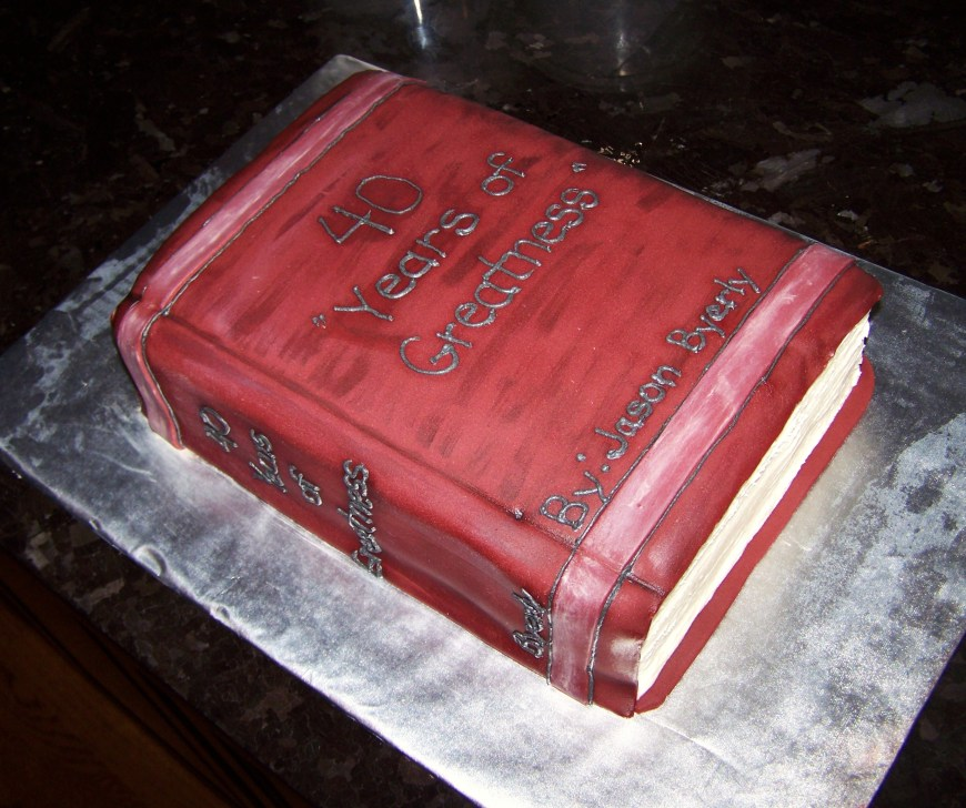 Book Birthday Cake 11 Birthday Cakes Like Books Photo Birthday Cakes That Look Like