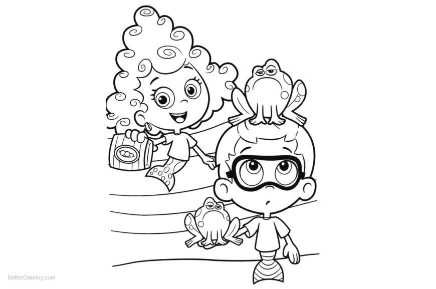 Bubble Guppies Coloring Pages Pics Of Bubble Guppies Coloring Pages Coloring Pages