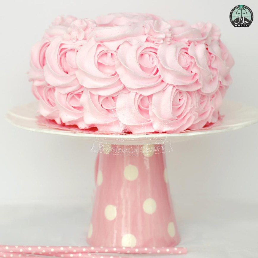 Buttercream Birthday Cakes Rose Swirl Buttercream Halal Birthday Cake Party Wholesale Singapore