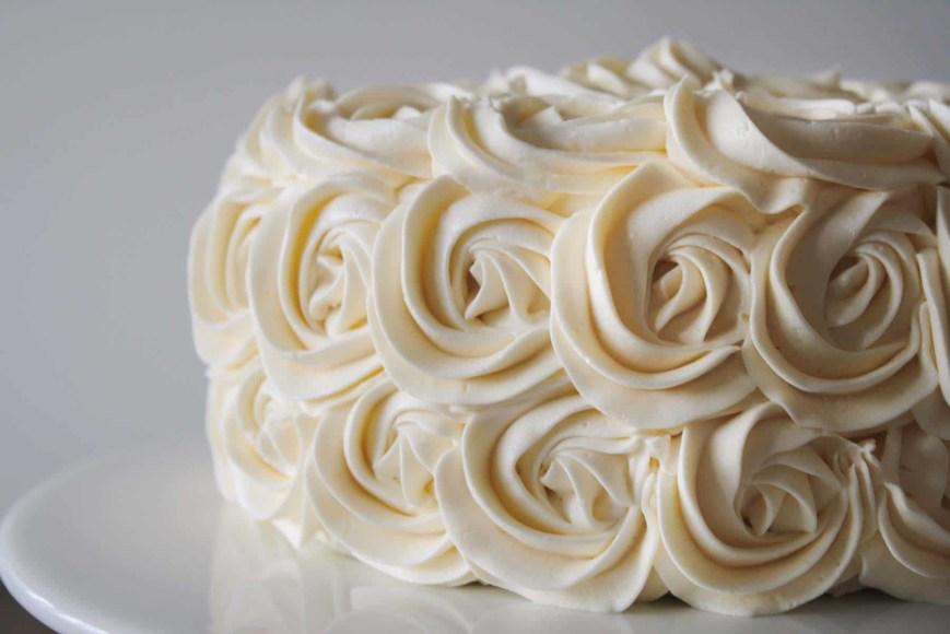 Buttercream Birthday Cakes Simple Vanilla Buttercream Liv For Cake