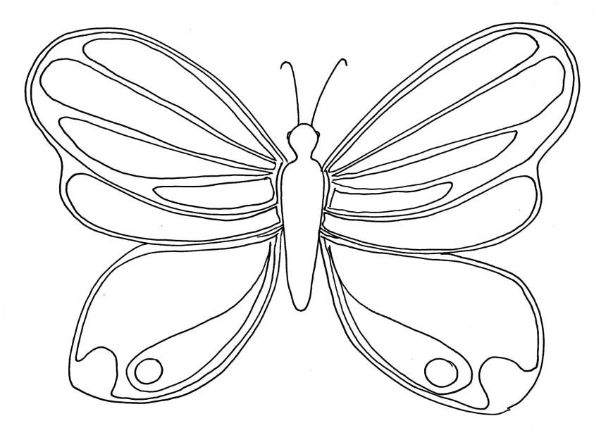 Butterflies Coloring Pages Butterflies To Color For Kids Butterflies Kids Coloring Pages