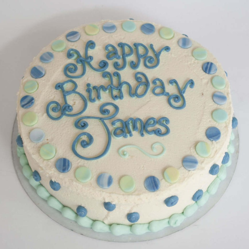 Cakes For Birthdays Buttercream Birthday Cake Boys Birthdays Cakes
