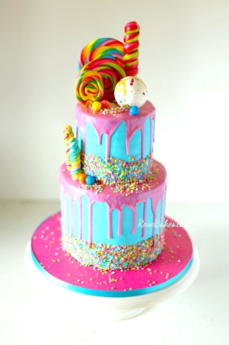 Candy Birthday Cake Candy Birthday Cake Ideas S Best Cakes Ideas