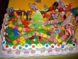 Candy Birthday Cake Candyland Cakes Decoration Ideas Little Birthday Cakes