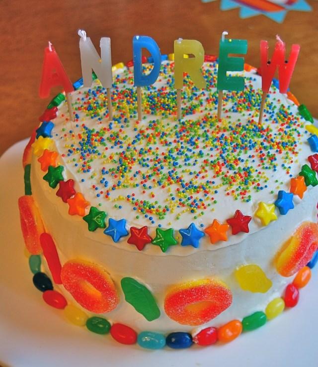 Candy Birthday Cake Chef Mommy Candy Birthday Cake
