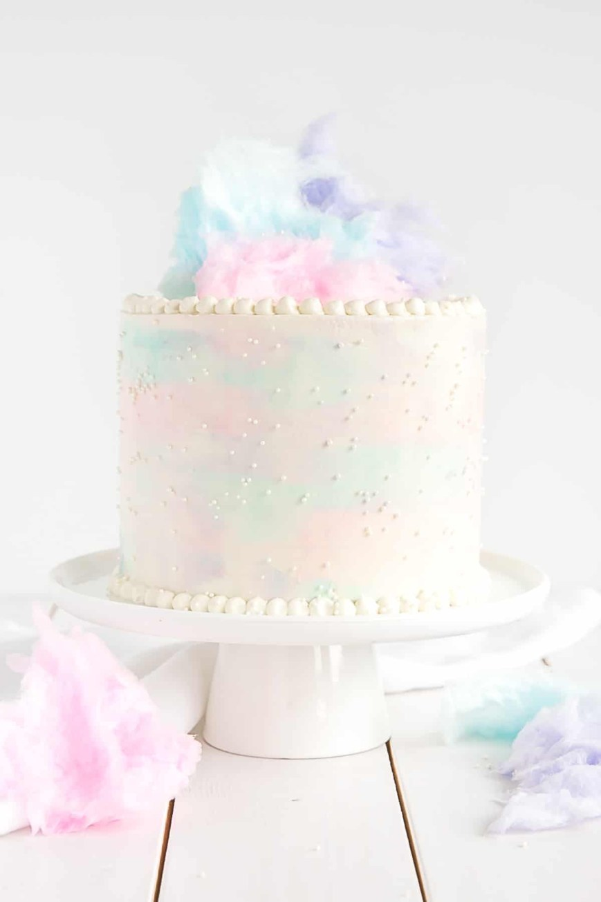 Candy Birthday Cake Cotton Candy Cake Liv For Cake
