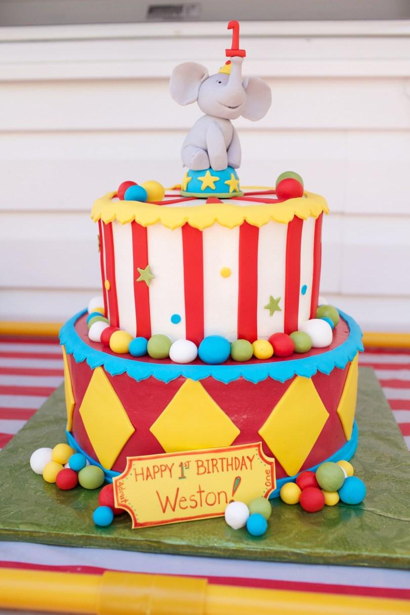 Carnival Birthday Cakes Westons 1st Birthday Cake Party Time Pinterest Birthday
