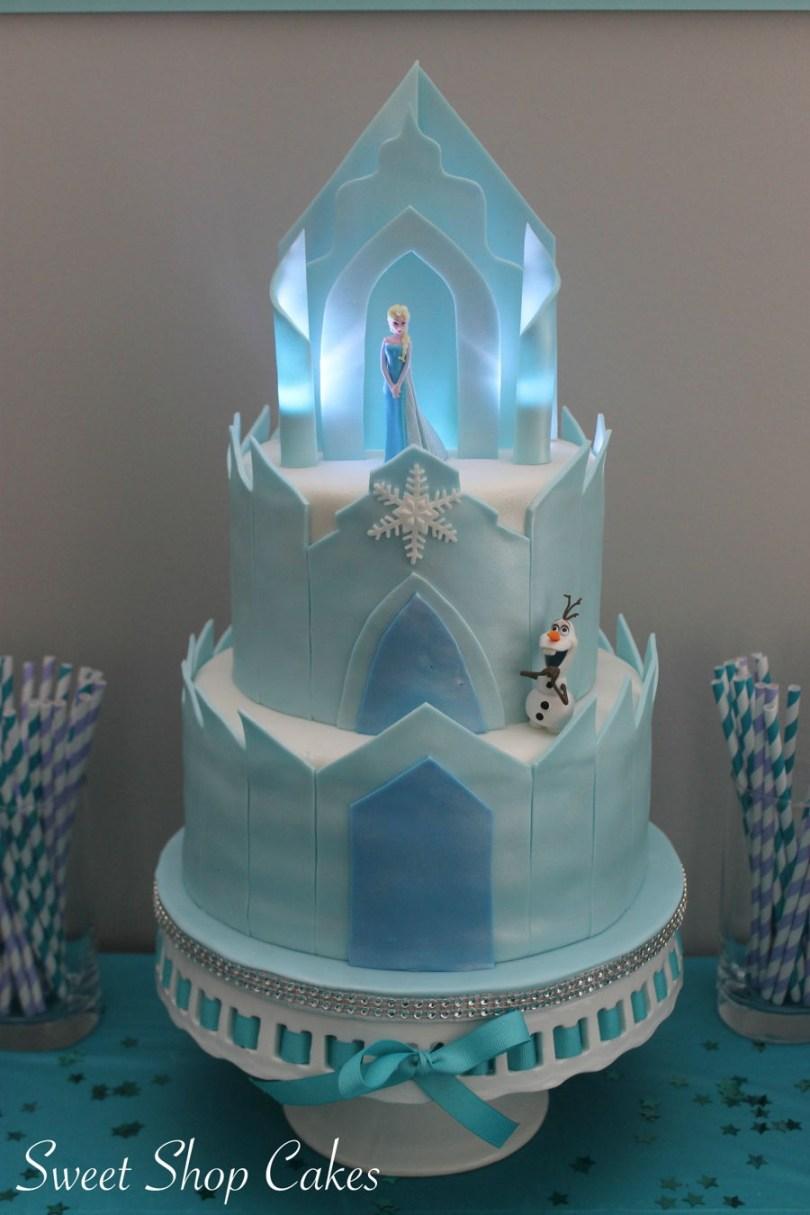 Castle Birthday Cake Frozen Castle Birthday Cake Cakecentral