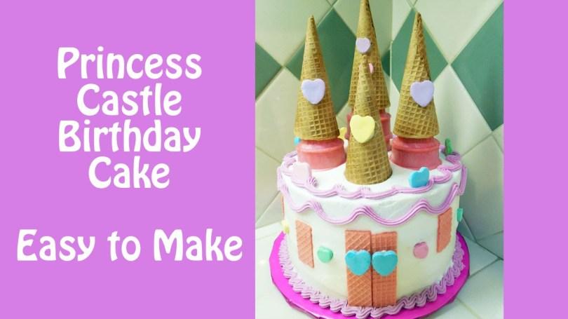 Castle Birthday Cake Make A Princess Castle Birthday Cake With Jill Youtube