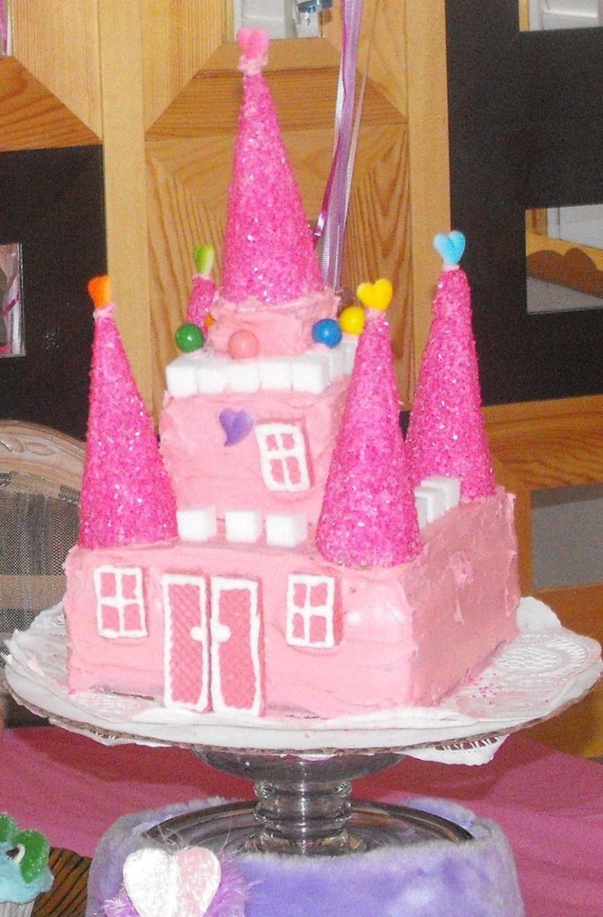 Castle Birthday Cake Princess Castle Birthday Cake Cakecentral