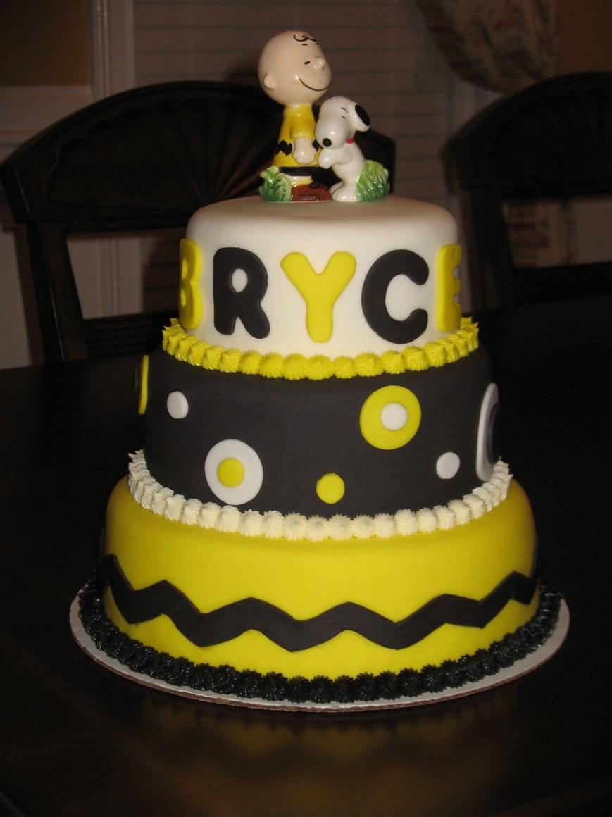Charlie Brown Birthday Cake Charlie Birthday Cakes