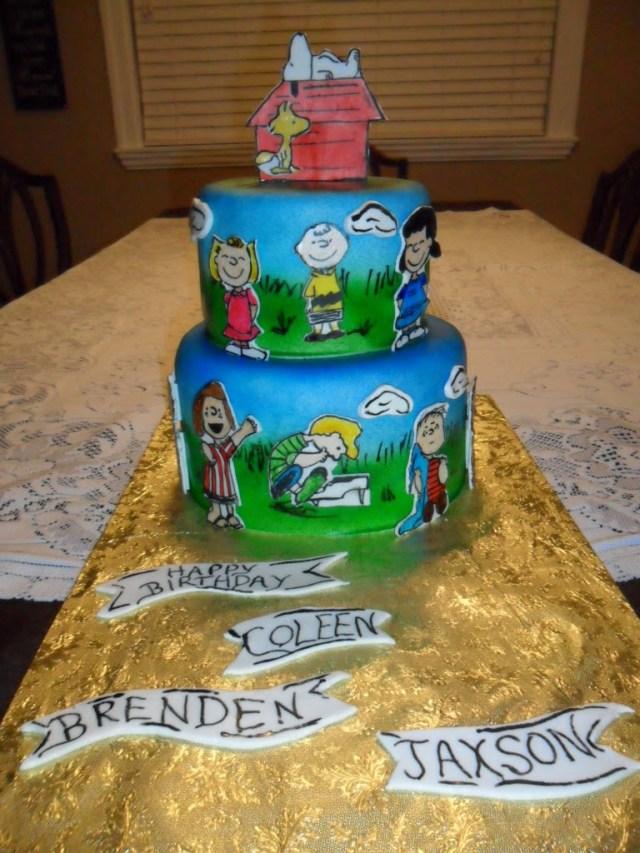 Charlie Brown Birthday Cake Larry The Cake Guy A Charlie Brown Birthday