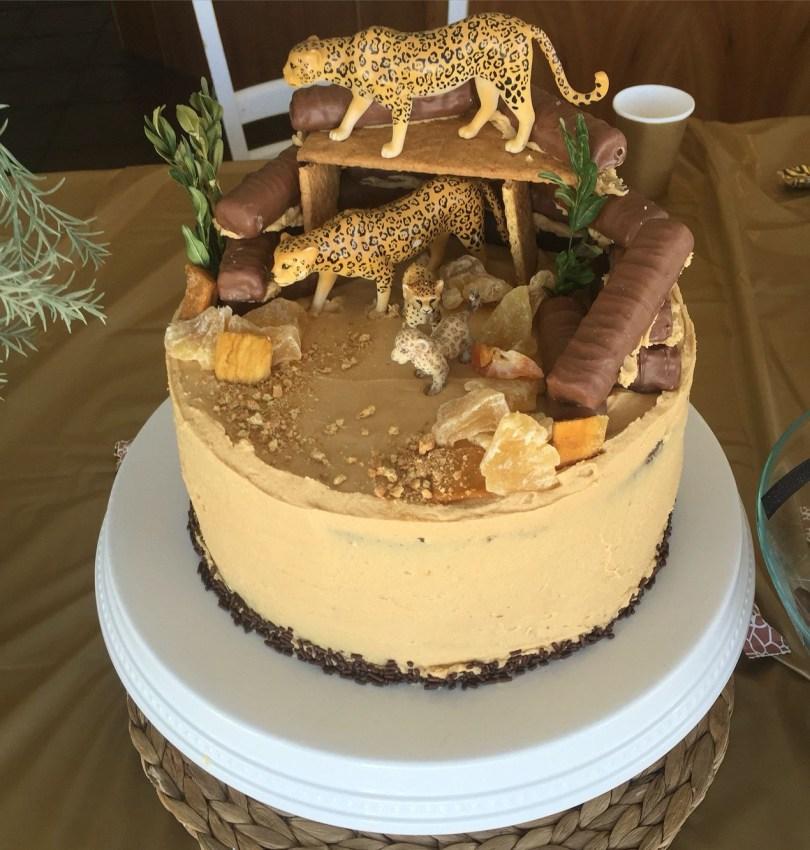 Cheetah Birthday Cake Cheetah Birthday Cake Food In 2019 Pinterest Cheetah