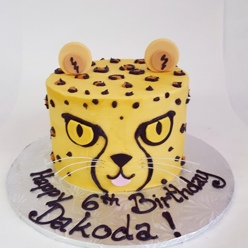 Cheetah Birthday Cake Our Cheetah Cake Is Quickly Becoming One Of Our Favourites Kayla