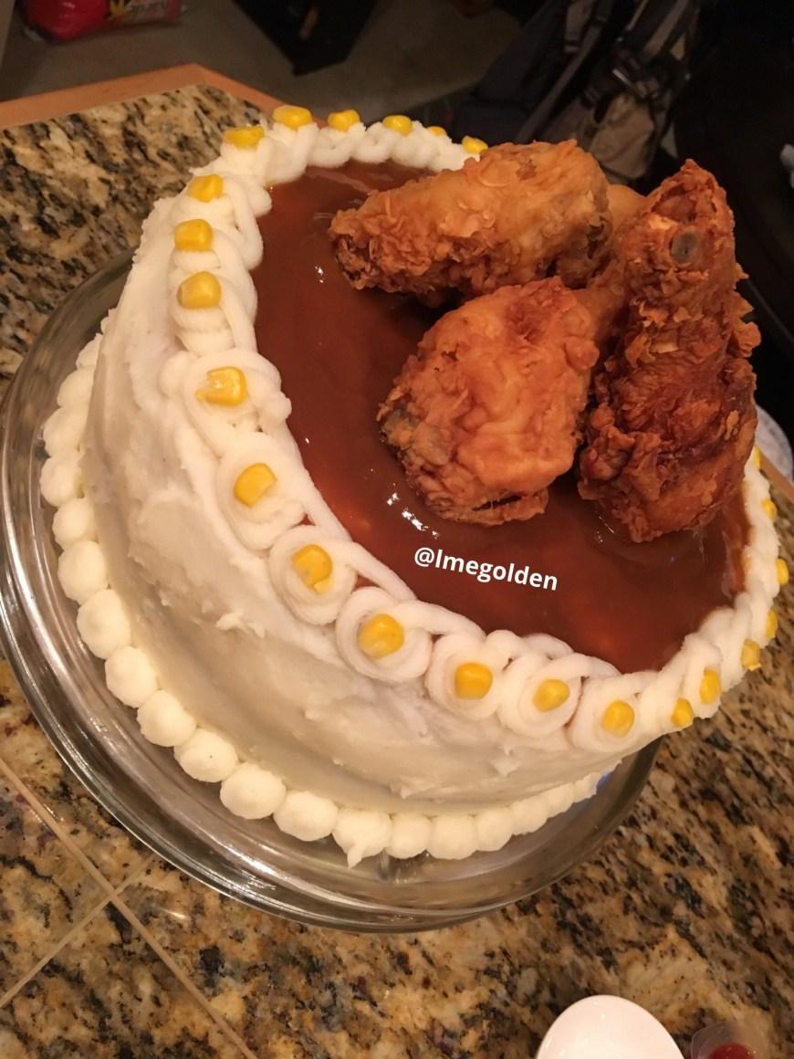 Chicken Birthday Cake Birthday Cake I Made For My Boyfriend Imgur