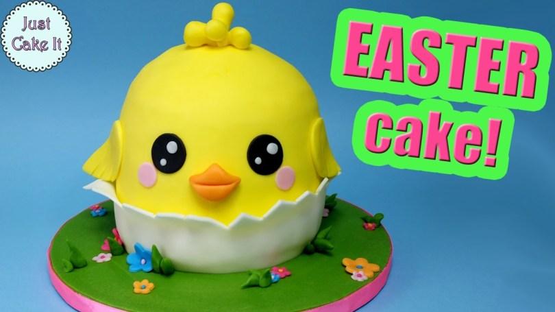 Chicken Birthday Cake Easter Chicken Cake How To Make Chick Cake Youtube